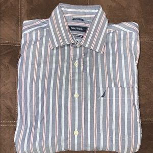 Nautica wrinkle free casual button down